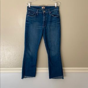 Mother Jeans Crop Flare Size 29